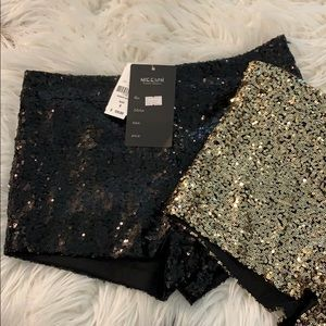 Sequins booty shorts!